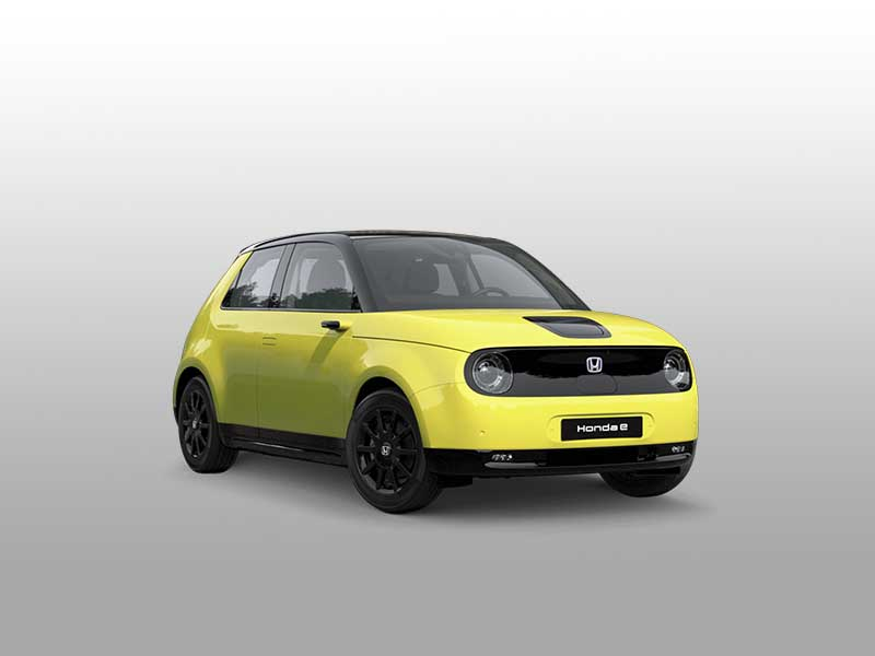 honda e elettrica gialla caserta dcarmotors